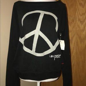 Peace Love World Long Sleeve!